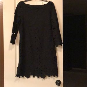 Felicity & coco black lace dress- size small